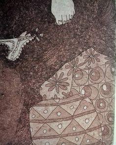 GRAVURE / EAU-FORTE / Mythe féminin détail 3    https://www.etsy.com/fr/shop/CFTurcas