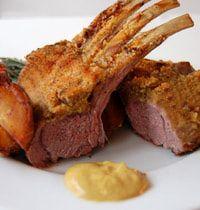 Honey Mustard Lamb Rack