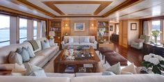 Lady Britt by Feadship - short listed for the Motor Yacht over 60 metres Award in the International Yacht and Aviation Awards 2013...