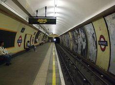 Southgate Tube Station, London.