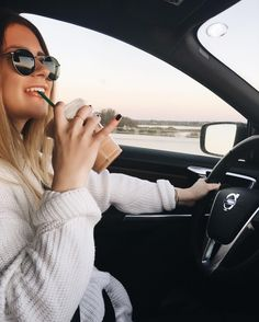 """16k Likes, 71 Comments - Danielle Carolan (@daniellecarolan) on Instagram: """"watched the sun rise while drinking some starbucks this morning on the way to school"""""""