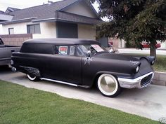 Custom '58 Ford Hearse beautiful...