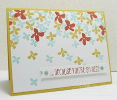 Stampin Up Botanicals for you card by Lyssa with instructions 2016 Saleabration & Occasions Catalogue