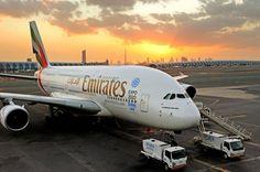 #Emirates #A380 with #DubaiExpo2020 artwork #Dubai #UAE #DubaiAirports