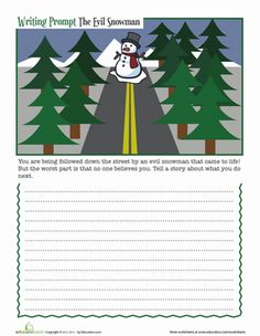 Winter writing activities for 5th grade