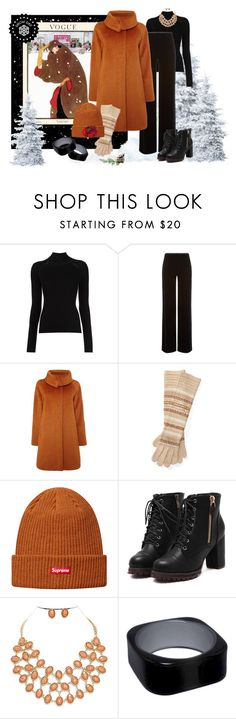 """Snow Day - Vogue Style"" by shoppe23 on Polyvore featuring Misha Nonoo, Armani Collezioni, MaxMara and Ralph Lauren"
