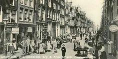 Amsterdam, Haarlemmerdijk. Omstreeks 1900.