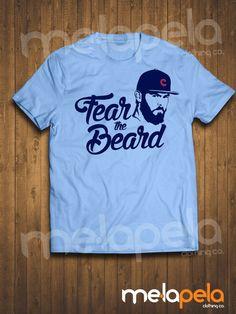 "Jake Arrieta ""Fear the Beard"" T-Shirt (Adult Sizes)"