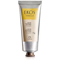 Com óleo de maracujá este néctar hidratante para mãos, de textura leve, promove hidratação imediata e prolongada das mãos.