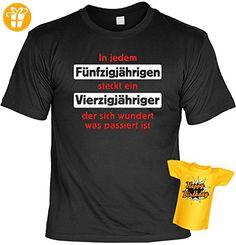 Lustiges T-Shirt zum 50. Geburtstag In jedem 50jähriger steckt ein… mit Mini-Shirt 50 Geburtstag 50 Jahre Geschenk für das Geburtstagskind - Shirts zum 50 geburtstag (*Partner-Link)