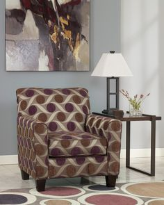 Beautiful accent chair in Pebble. Find more Kimbrell's #livingrom  furniture at www.kimbrells.com