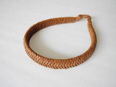 braided hair band made by Severine