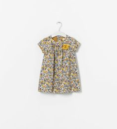 Image 1 of FLORAL DRESS WITH APPLIQUÉ from Zara