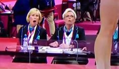 Judges? Shocked reaction. Total perfection.