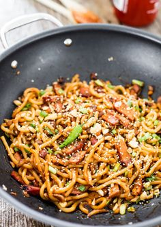 Best Shanghai Style Noodles Or Udon Recipe on Pinterest