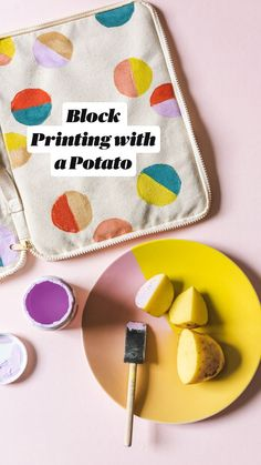 Best Block Printing with a Potato