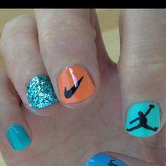 Trophy Wife Nail Art... Nike <3 <3 <3