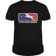 Personalized Name MAJOR LEAGUE LABRADOR Shirts & Tees