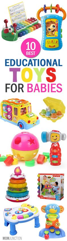 10 Best Educational Toys For Babies