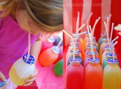Backyard Carnival Ideas and Decorations