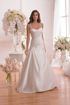Style * F171015 * » Wedding Dresses » Jasmine 2015 Spring Collection » by Jasmine Bridal » Available Colours : Ivory, White