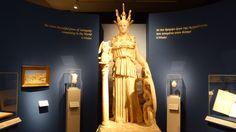 Fotografía: Rebeca Pizarro - Museo Arqueológico- Estatua de Atenea romana- Atenas Most Beautiful, World, Athens, Statues, Museums, The World, Earth