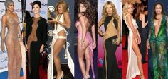 'Naked Dresses' in Red Carpet History