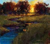 Sunset Slough by Jennifer Bowman