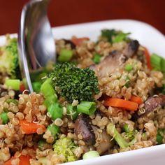 "Quinoa & Veggie ""Fried Rice"""