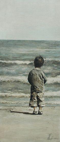 by Annabelle Lanfermeijer, Dutch painter,  b 1965