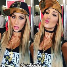 "436 Likes, 3 Comments - Geo ♡ (@carmellasection) on Instagram: ""She always makes me so happy! ❤️ @CarmellaWWE 