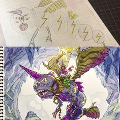 Father and Sons' Design Workshop   You'll find making-of videos and drawing advice on my Patreon page:  https://www.patreon.com/thomasromain  Please check it out and support us!    No.33 : Narvagon  Original design by my son Ryunosuke (11)
