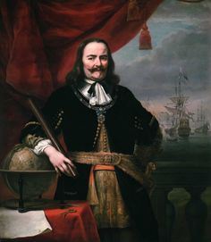 Michiel de Ruyter is a scruffy, unkempt man who becomes Admiral of the Dutch fleet to fight the English.