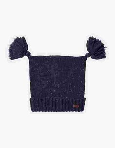 Main image showing Double Tassel Beanie
