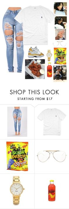 """""""Untitled #150"""" by baby-boogaloo ❤ liked on Polyvore featuring Ralph Lauren, CÉLINE and Kate Spade"""