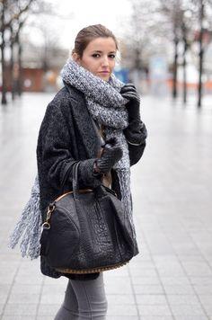herringbone & knit