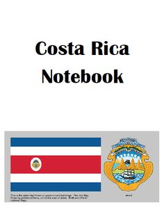 Central America Study: Costa Rica with free printables