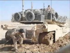 destroyed m1a1 tanks iraq