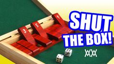 Make a wood Shut-the-Box game.