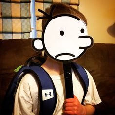 book character costume for diary of a wimpy kid