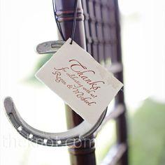Horseshoe Wedding Favors