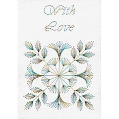 Quilt Block Love | Flowers | Form-A-Lines Stitching Cards ...