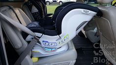 Britax Blvd CT - installed Grand Caravan with pool noodle
