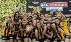 Hawthorn put on a masterclass in the grand final to become back-to-back AFL premiers with a mauling of the Sydney Swans Australian Football League, Football Team, Finals, Sydney, Hawks, Reception, Club, Sport, Tv