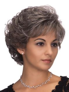 New Fashion Short Wavy Brown Side Bang African American Wigs for Women 10 Inch Loose Curls Short Hair, How To Curl Short Hair, Short Hair With Layers, Short Hair Cuts For Women, Wilshire Wigs, Cheap Human Hair Wigs, Short Wigs, Synthetic Wigs, Wig Hairstyles