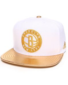 Buy Brooklyn Nets Metallic Gold Detail NBA snapback hat Men's Hats from Adidas. Find Adidas fashions & more at DrJays.com