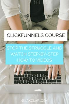 Want to sign up with Clickfunnels but not a developer? My Clickfunnels course helps you get started building your first sales funnel with ease. Click now to check it out - includes FREE 30 min consultation.