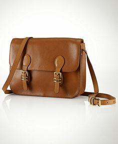 Lauren Ralph Lauren Handbag, Bexley Heath Medium Messenger - Lauren Ralph Lauren -Handbags & Accessories - Macy's. Now mine.