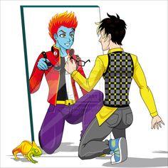 Monster High: Cool Jackson/Holt picture found on deviantart
