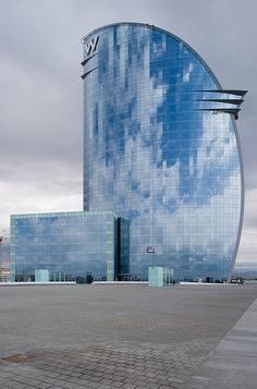 W Hotel, Barcelona, Spain by Xavier de Jauréguiberry #architecture ☮k☮